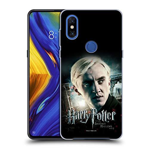 Head Case Designs Oficial Harry Potter Draco Malfoy Deathly Hallows VIII Carcasa rígida Compatible con Xiaomi Mi Mix 3