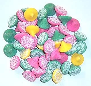 Scott's Cakes Smooth N Melty Pastel Mints in a 1 Pound Clear Cello Bag