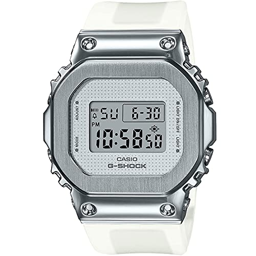 Casio G-Shock By Women's GMS5600SK-7 Digital Watch Silver