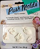 Roses Push Molds Designed by Judi Maddigan for Friendly Plastic & Polymer Clays