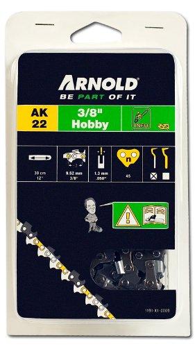Arnold 1191-X1-0009 Hobby - Cadena (3/8'', 1,3 mm, 45