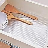 KINLO 0.61 x 5 m Aluminium Folie Aufkleber Küchen Selbstklebende Küchenfolie Hitzebeständig Tapete Öl-Resistent Wasserdicht Anti-Schimmel DIY Möbel Folie für Küchen, Schrank, Möbel, Tische Typ-C - 3
