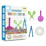 Perlas de agua para niños, no tóxicas, 55000 Aqualinos Orbeez, bolas de agua de gel, decoración para flores, plantas y jarrones, perlas de gel para bodas, fiestas, perlas de agua de cristal