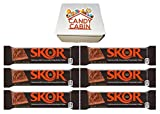 Skor Milk Chocolate Butter Toffee 1.4 Oz Candy Bars, Multiple Pack Box By CANDY CABIN (6 Pack)
