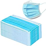 zxwd Filtro desechable 3 capas Cirugía dental hipoalergénica Transpirabilidad Confort Transpirable, para uso en hospitales, escuelas y salud pública en 50 piezas