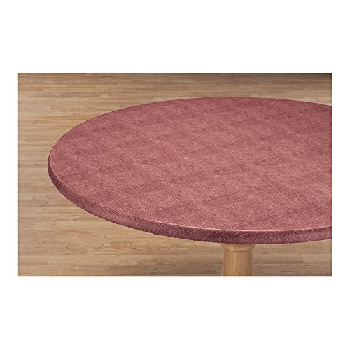 Miles Kimball Illusion Weave Vinyl Elasticized Table Cover by HSK 42