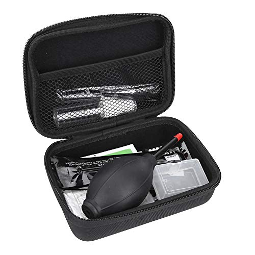 Kit de limpieza de cámara de 12 piezas, paño de limpieza de fibra ultrafina, lana suave superfina, propiedad antiestática única, adecuado para cámaras digitales, computadora, teclado, TV, pantalla LCD