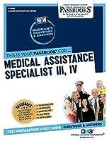 Medical Assistance Specialist III, IV (Career Examination)