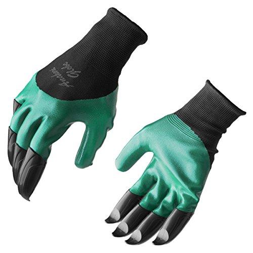 新品 モグラ手袋(穴掘りグローブ)(BLACK/GREEN)