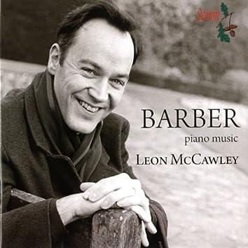 Barber: Piano Music
