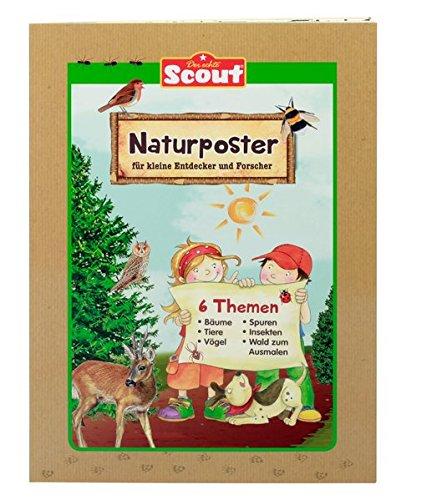 Scout Naturposter für kleine Entdecker und Forscher