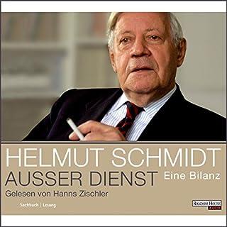 Außer Dienst                   Autor:                                                                                                                                 Helmut Schmidt                               Sprecher:                                                                                                                                 Hanns Zischler                      Spieldauer: 6 Std. und 36 Min.     370 Bewertungen     Gesamt 4,2