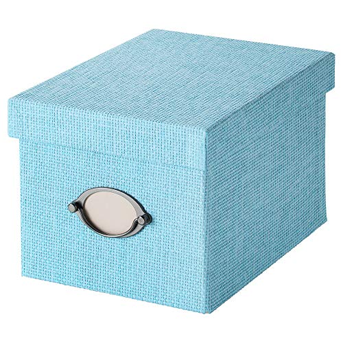 IKEA.. 603.970.74 Kvarnvik Aufbewahrungsbox mit Deckel, blau