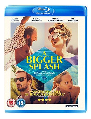 A Bigger Splash [Edizione: Regno Unito] [Reino Unido] [Blu-ray]