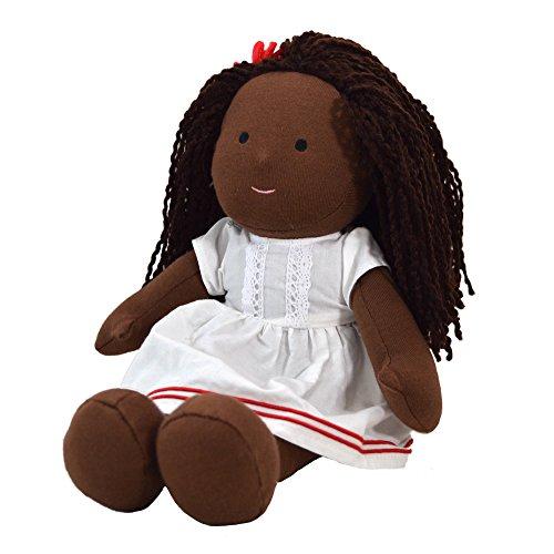One Dear World muñeca de 32 cm - Hope Cabello Africano, para bebés y niños pequeños