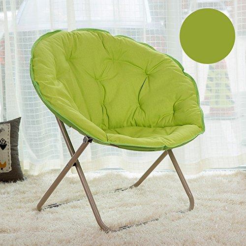 ZHEYANG Gaming Bodenstuhl Lazy Sofa Chair, Lazy Lounge Chair, Radar Chair, Klappstuhl, runder Stuhl, Sofa Chair, Moon Chair, Sonnenliege (Farbe : 4#)