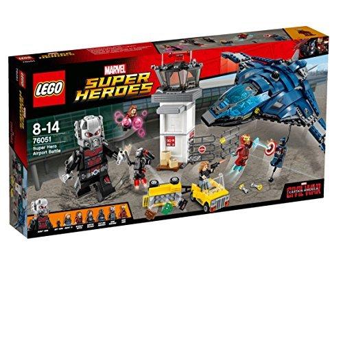 LEGO Super Heroes - Set Batalla de los superhéroes en el Aeropuerto, Multicolor (76051)