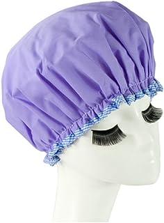 Reusable Waterproof Greaseproof Shower Cap Spa/Bathing Cap Cooking Hat #48