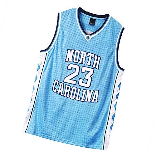 Michael Jordan Chicago Bulls 23 # - Chaleco deportivo para hombre, diseño retro, color azul cielo, talla S-3XL color XXL (187/198 cm)