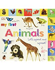 Tabbed Board Books: My First Animals: Let's Squeak and Squawk!