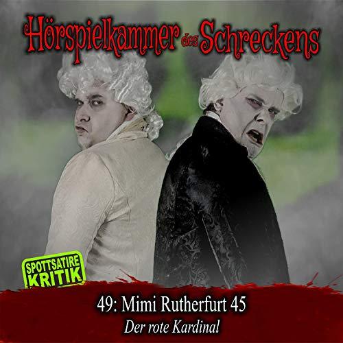 『Mimi Rutherfurt 45 - Der rote Kardinal』のカバーアート