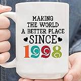 Making The World A Better Place Since 1998 Mug,Coffee Mug