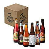 BIRRE DAL MONDO A CONFRONTO: Intro Beer Club, ha selezionato 6 birrifici tra le eccellenze nella produzione di birra artigianale nel mondo, e li ha inseriti in un'unica box regalo; 1 BIRRA DE MOLEN HOP & LIEFDE di colore ambrato incredibilmente rinfr...