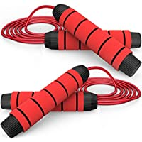 2-Pack Chicmoda Tangle-Free Speed Jump Rope with Ball Bearing