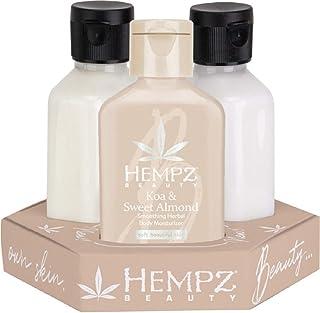 Hempz 3 PACK Koa & Sweet Almond, Original and Age Defying, 2.25 ounce each