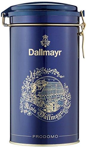 Dallmayr Kaffeedose blau, für 500g Kaffee, Schmuckdose, 3er Pack (3 x 0,5 kg)