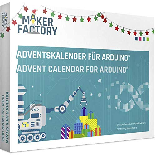 MAKERFACTORY Adventskalender für Arduino® Adventskalender ab 14 Jahre