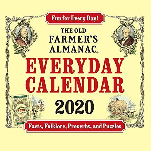 The 2020 Old Farmer's Almanac Everyday Box Calendar