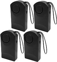 KESOTO 4x Wireless Home Door Burglar Security Alarm System Sensor Battery Powered