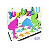 Delmkin Kinderspiel Twister Game Funny Party Spielzeug Familienspiel -