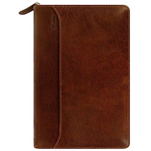 Filofax 21692 Personal Lockwood zip, cognac