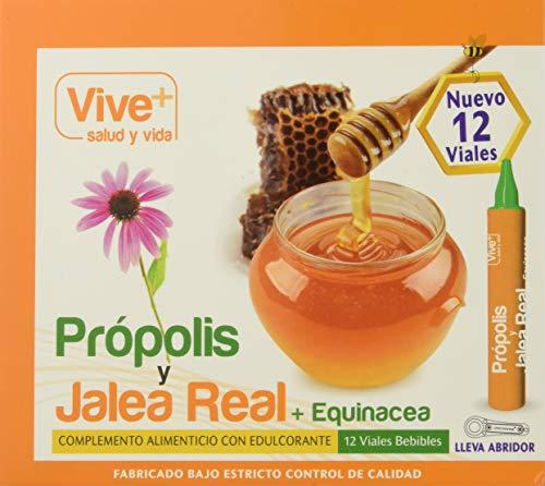 Vive+ Própolis con Jalea Real y Equinácea - 3 Paquetes de 12 Unidades
