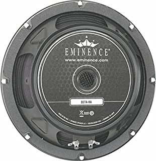 eminence beta 8 inch