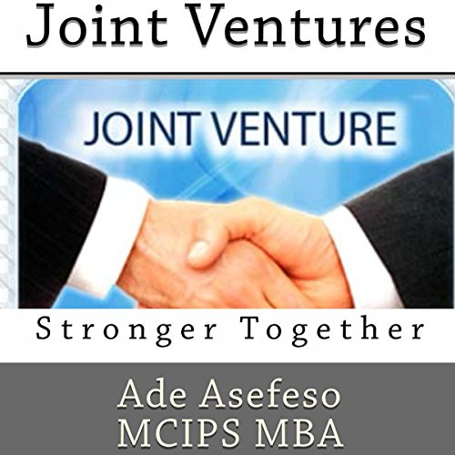 Joint Ventures audiobook cover art