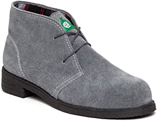Featherlike, Desert Grey, 120461, Women's Steel Toe, Safety Shoes, Comfort, Lightweight, CSA, ASTM Certified, Made in Canada