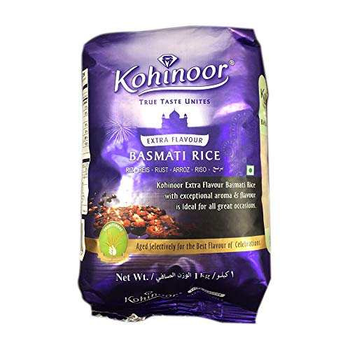 バスマティライス インド産 1kg Kohinoor Basmati Rice
