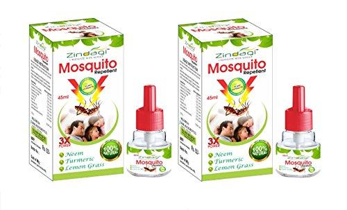 Zindagi Herbal Mosquito Repellent Vaporizer (White) - Pack of 2