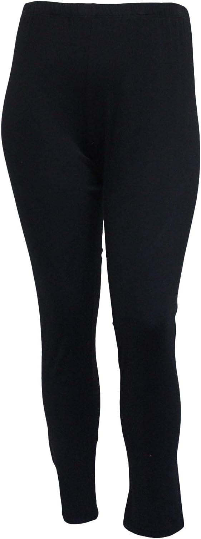 Jess & Jane Women's Mineral Washed Cotton Legging Pants