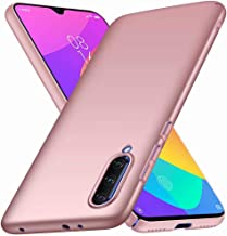 Wuzixi Case for SamsungGalaxyA01. Resilient Shock Absorption and Ultra Thin Design Cover, Rubberized Hard PC Back Case, Case Cover for SamsungGalaxyA01.Rose gold