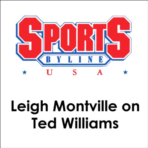 Leigh Montville on Ted Williams audiobook cover art