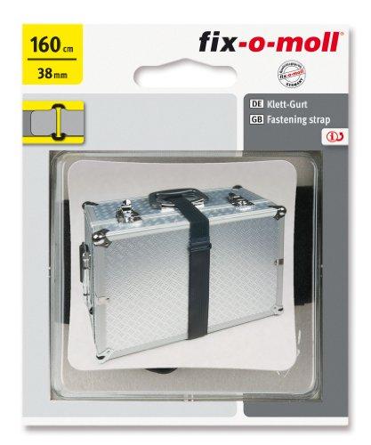 fix-o-moll Klett-Gurt Maxi 38 mm x 160 cm schwarz, 3563024
