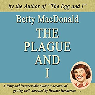 The Plague and I audiobook cover art