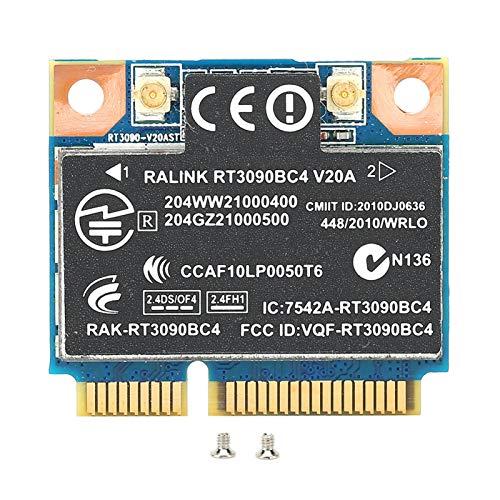 Tomanbery Larga Vida útil Tarjeta de Red Tarjeta WiFi Amplia compatibilidad Resistente a la corrosión Señal Estable inalámbrica PCI-e Buen Rendimiento para portátiles para computadora