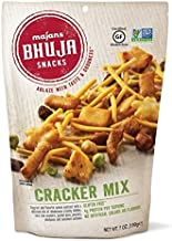Majans Bhuja Gluten Free Snack Mix, Non-GMO | No Preservatives | Vegetarian Friendly | No Artificial Colors or Flavors, Cracker Mix, 7 Ounce (Pack pf 6)