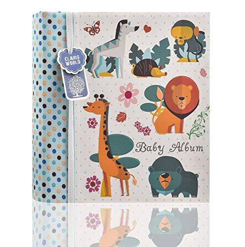 Arpan Slip in Memo bleu bébé Garçon 200 photo pour 6x4'/ 15x10cm photo album-des bois animals