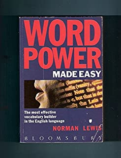 Word Power Made Easy: Most Effective Vocabulary Builder in the English Language